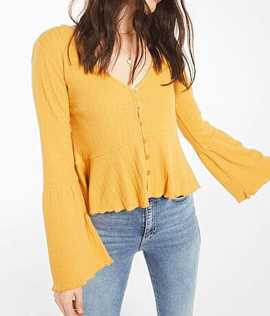 White Crow Chaves Waffle Top