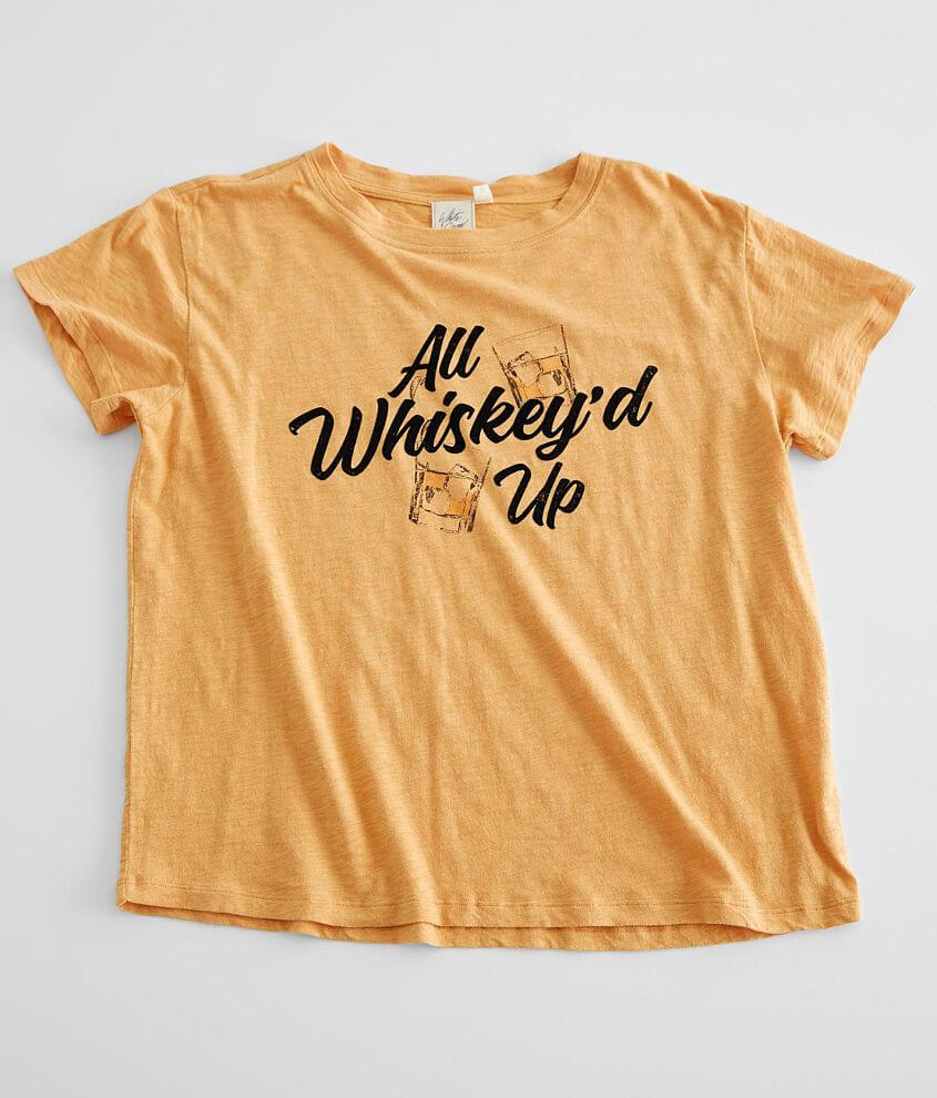 White Crow All Whiskey'd Up T-Shirt front view