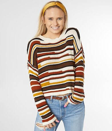 White Crow Lenora Cropped Sweater