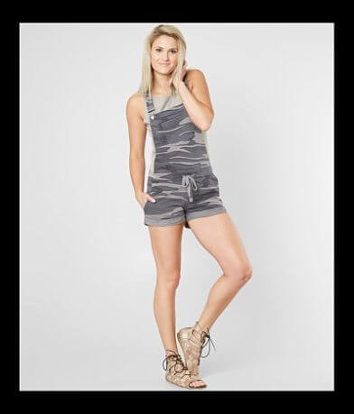 White Crow The Camo Overall Short