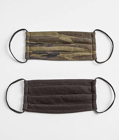 White Crow Camo 2 Pack Face Masks