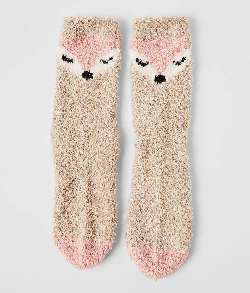 Z Supply Plush Fox Socks front view