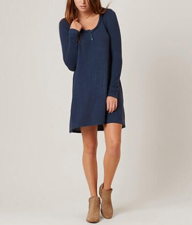 Z Supply Heathered Henley Dress