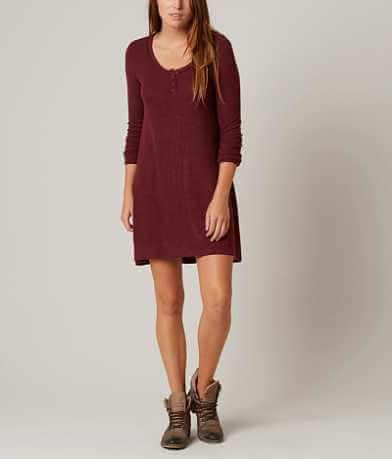 Z Supply Heathered Henley Dress