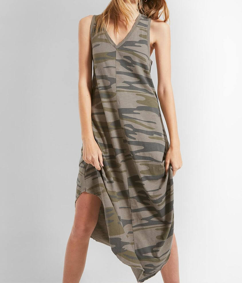 Z Supply The Camo Reverie Dress front view