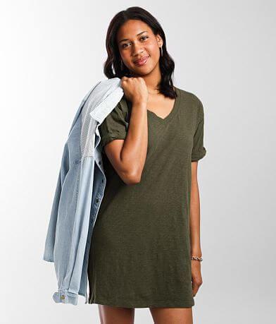 Z Supply The V-Neck T-Shirt Dress