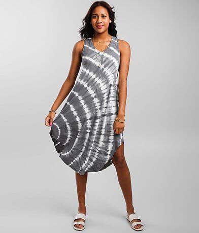 Z Supply Reverie Spiral Midi Dress
