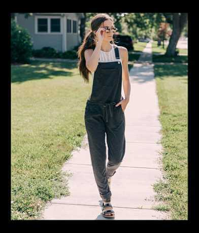 White Crow The Solid Knit Overalls