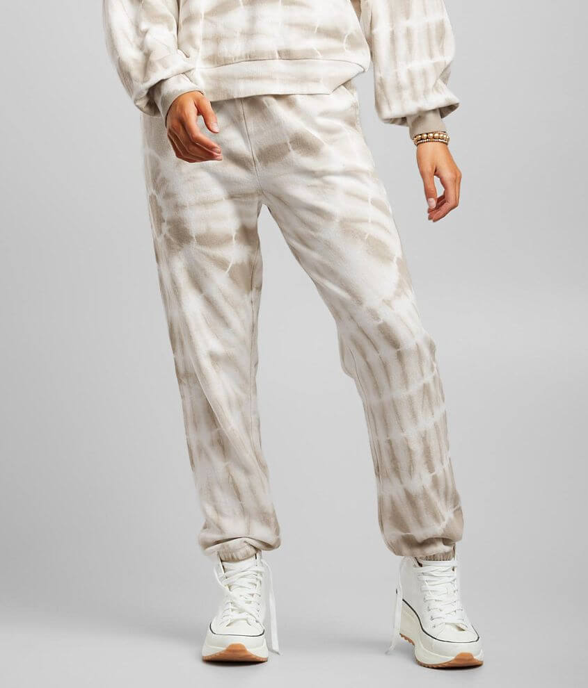Z Supply Emery Spiral Tie Dye Jogger front view