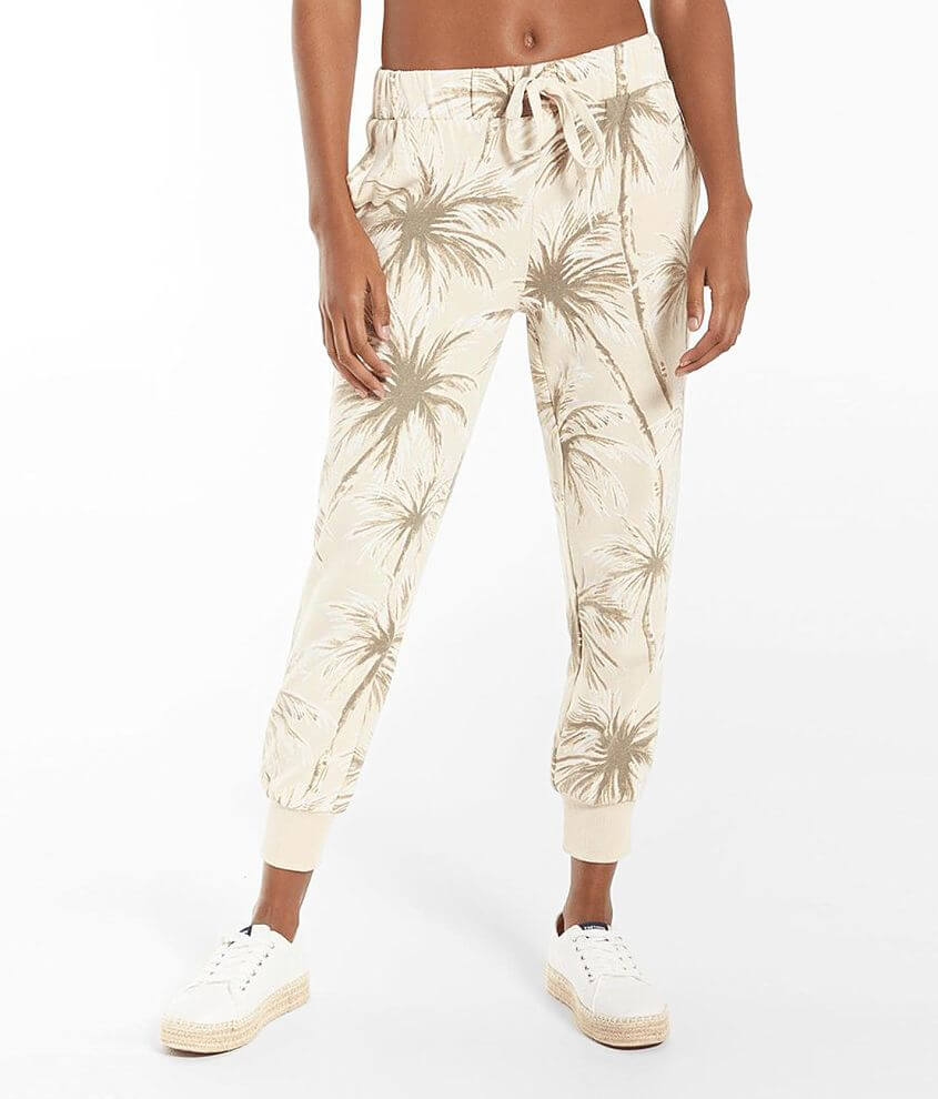 Z Supply Coconut Palm Jogger Sweatpant front view