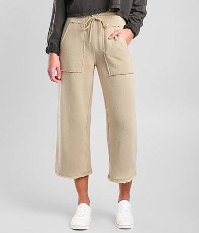 Z Supply Paloma Cropped Wide Leg Pant