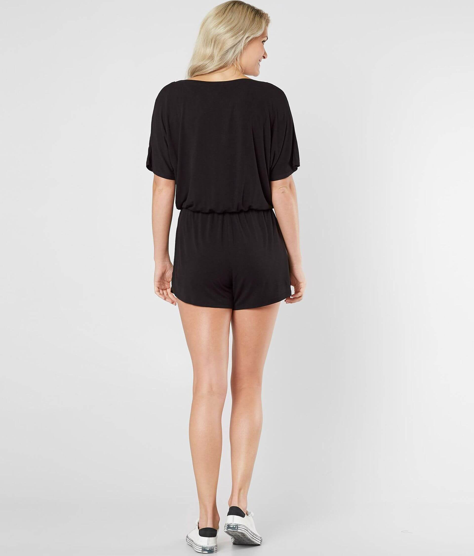 56cab40469f Z Supply The Emi Romper - Women s Rompers Jumpsuits in Black