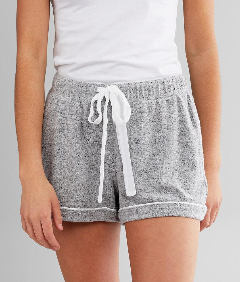 Z Supply Brushed Knit Pajama Short front view