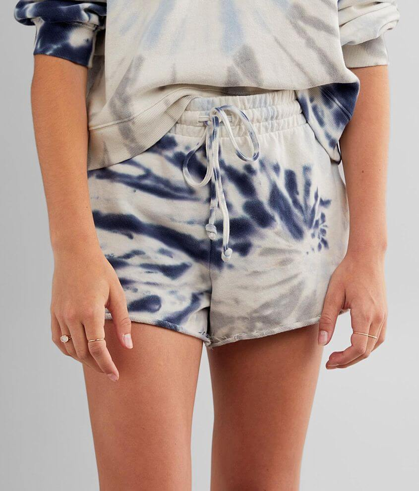 Z Supply The Tie Dye Knit Short front view