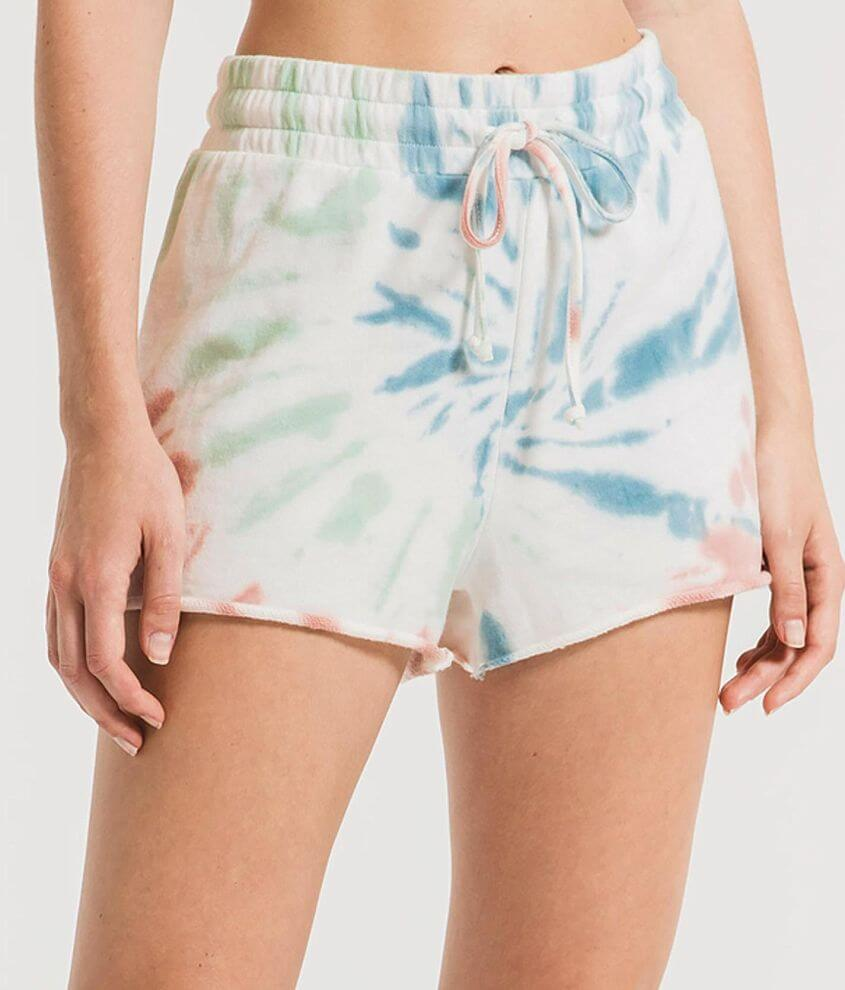 Z Supply Tie Dye Short front view