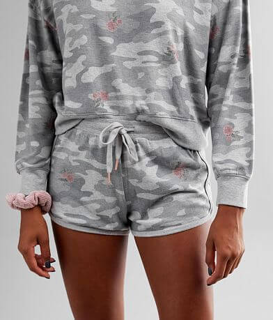 White Crow Mia Rose Camo Short