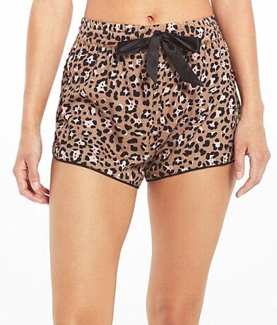 Z Lounge Sweet Talker Leopard Short