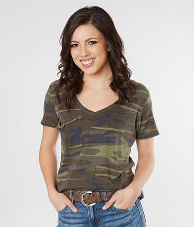 Z Supply Camo Burnout T-Shirt