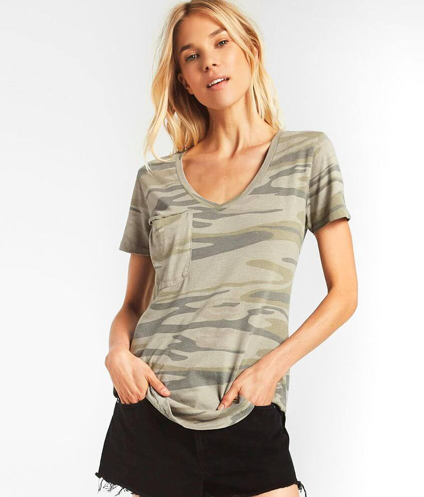 Z Supply The Camo Pocket T-Shirt front view