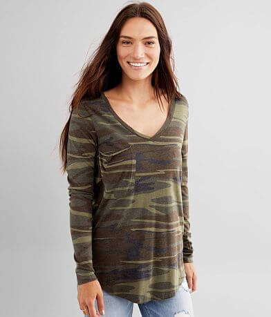 Z Supply The Camo Pocket T-Shirt