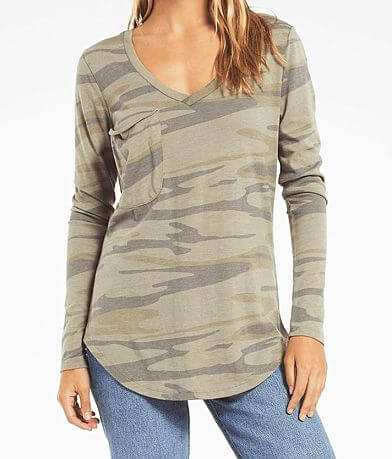 Z Supply The Camo Long Sleeve T-Shirt