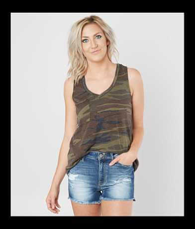Z Supply The Camo Pocket Tank Top