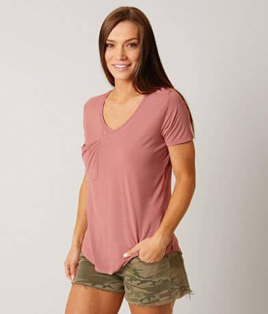 White Crow Sleek Jersey Pocket T-Shirt