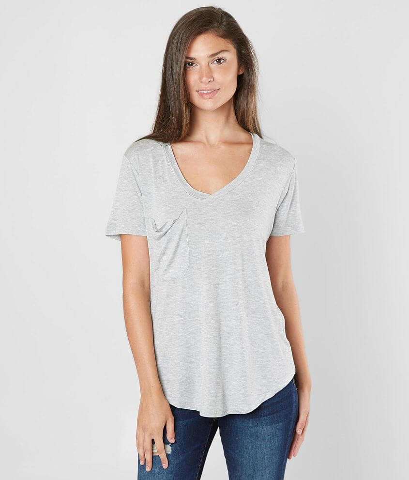Z Supply The Sleek Jersey T-Shirt front view