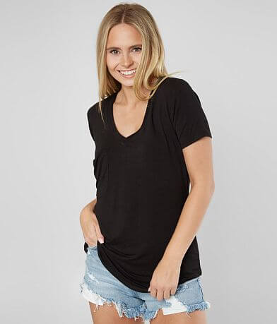 Z Supply The Sleek Jersey Pocket T-Shirt