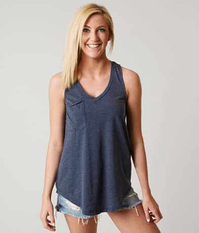 White Crow The Pocket Racer Tank Top