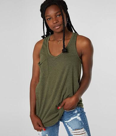 Z Supply The Pocket Racer Tank Top