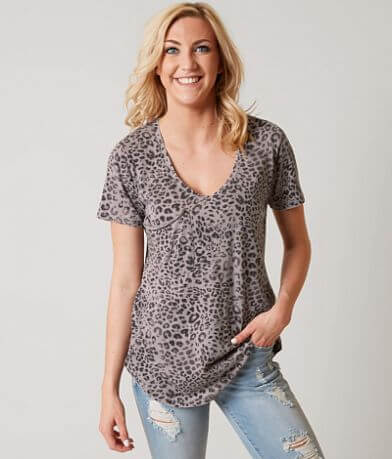 White Crow Leopard Pocket T-Shirt