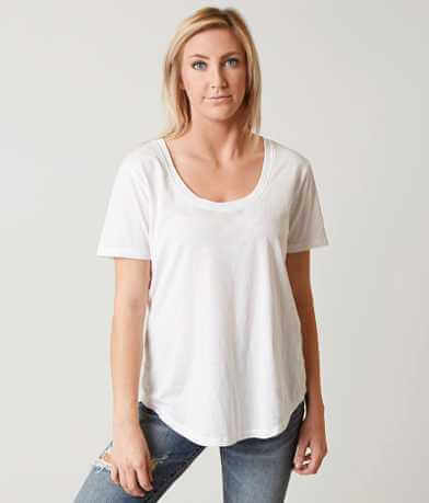 White Crow Scoop Neck T-Shirt