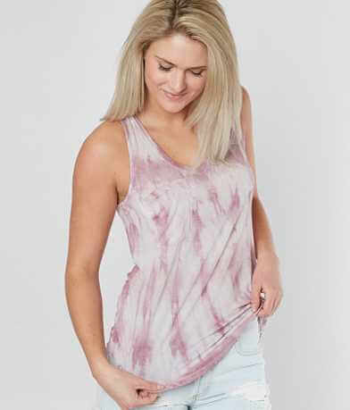 White Crow The Tie Dye Pocket Tank Top