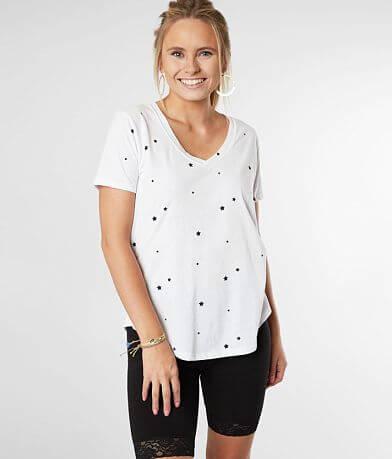 Z Supply The Star Print V-Neck T-Shirt