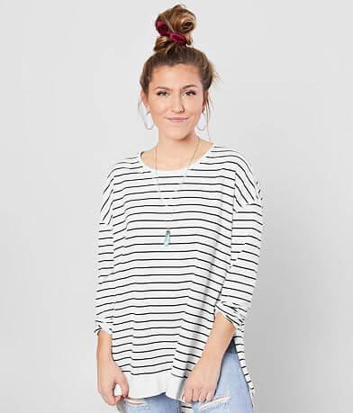 Z Supply The Striped Weekender Tunic Top