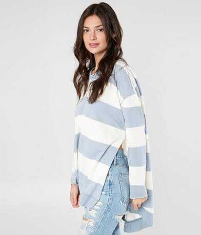 White Crow The Rugby Stripe Weekender Top