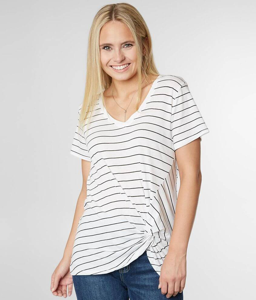 Z Supply The Lucca Twist Front Top front view