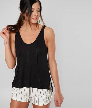 White Crow The Micro Ribbed Tank Top