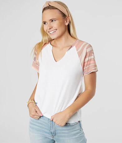Z Supply The Camo Baseball T-Shirt