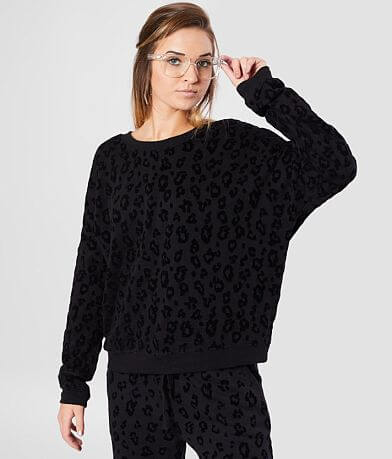 Z Supply The Animal Flocked Sweatshirt