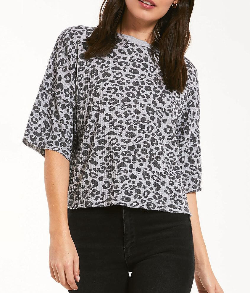 Z Supply The Leopard T-Shirt front view