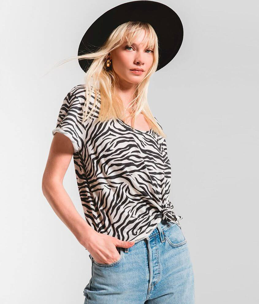 Z Supply The Zebra T-Shirt front view