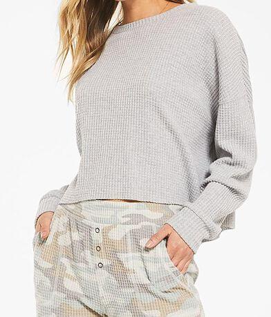 Z Lounge Celine Waffle Knit Pullover