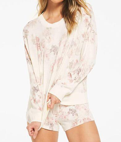 Z Lounge Elle Floral Print Pullover