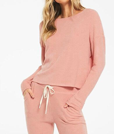 Z Lounge Leila Ribbed Pullover
