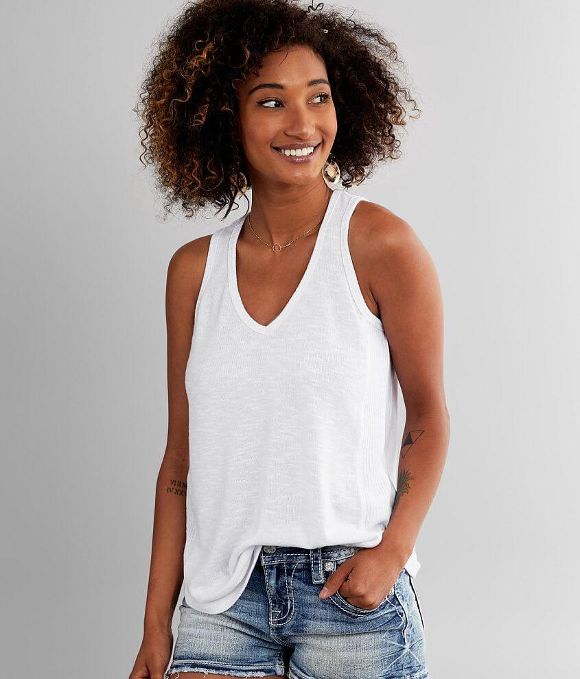 White Crow Jules Hacci Tank Top front view