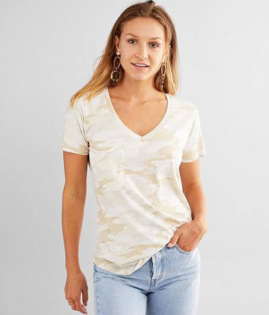 White Crow Camo Pocket T-Shirt