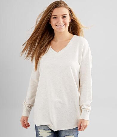 Z Supply Heathered Weekender Pullover