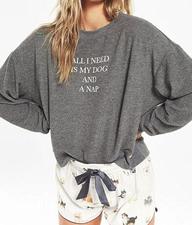 Z Lounge Elle All I Need Is My Dog Pullover